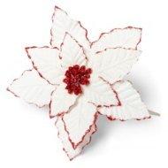 Fleur de noël paillettes
