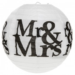 Lanterne Mr & Mrs