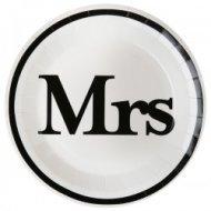 10 Assiettes Mr & Mrs