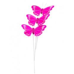 3 Papillon sur tige
