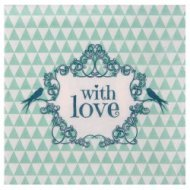 20 Serviettes With love