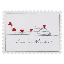 50 Stickers Vive les mariés
