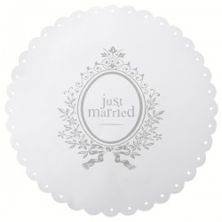 6 Set de table Just Married