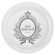 10 Assiettes Just Married