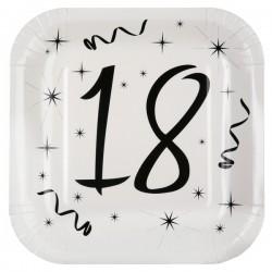 Assiettes 18 ans