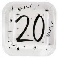 Assiettes 20 ans