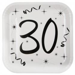 Assiettes 30 ans