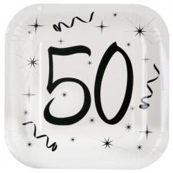 Assiettes 50 ans