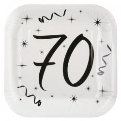 Assiettes 70 ans