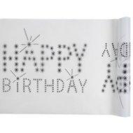 Chemin de table Happy Birthday