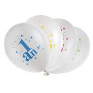 8 Ballons Joyeux Anniversaire festif