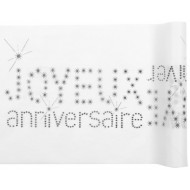 Chemin de table Anniversaire