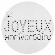 50 Stickers Anniversaire