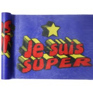 Chemin de table Super héros boy