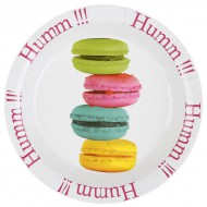 10 Assiettes Macarons