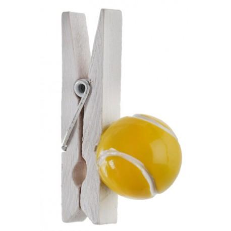 4 Balles de tennis sur pince
