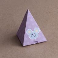 10 Mini Pyramides Souris étoile