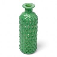 Bouteille Vase Nid d'Abeille Vert