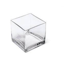 Vase verre carre
