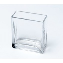 Vase verre rectangle