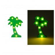 Palmier 8 LEDS