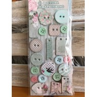 Boutons Scrapbooking