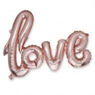 "Ballon Métal ""Love"""