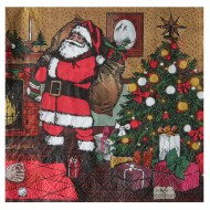 Serviette Noël d'Antan