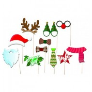 KIT PHOTO BOOTH NOEL  11PCS