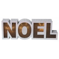 Lettres Noël Lumineuses