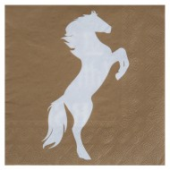 Serviette Equitation Kraft