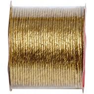 Papier cordon métallisé