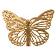 Papillon Métal sur Pince