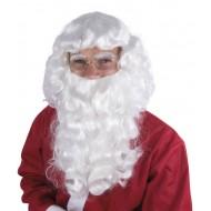 Perruque & Barbe de Père Noël