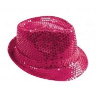 Chapeau Tissu Sequins