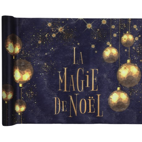Chemin de table La Magie de Noël