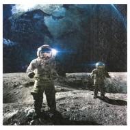Serviettes Astronaute