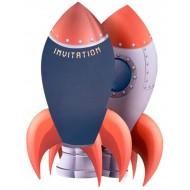 Jolies Invitations Astronaute