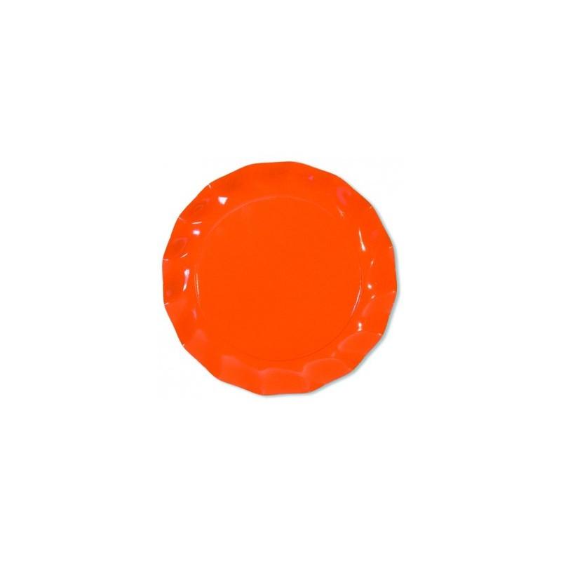 Assiette de lAvent de No/ël pour No/ël Assiette d/éco pour mariages et f/êtes de famille COM-FOUR/® 4x Assiette de pr/ésentation plastique rouge