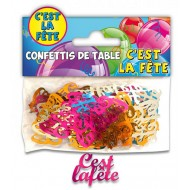 Confettis de Table C'est La Fête Multicolore