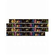 Bannière Métallisée 40ans