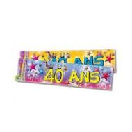 Bannière Anniversaire 40ans