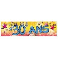 Bannière Anniversaire 30ans