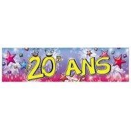 Bannière Anniversaire 20ans