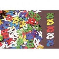 Confettis 25ans Multicolore