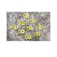 Confettis de Table 50ans Or