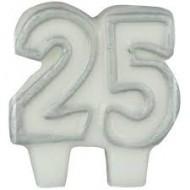 Bougie Chiffre 25ans