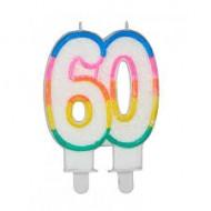 Bougie Chiffre 60ans