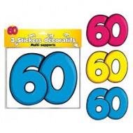 3 Stickers Décoratifs 60