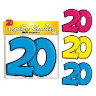 3 Stickers Décoratifs 20